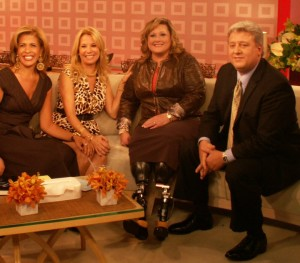 Laughter on the set of the TODAY show